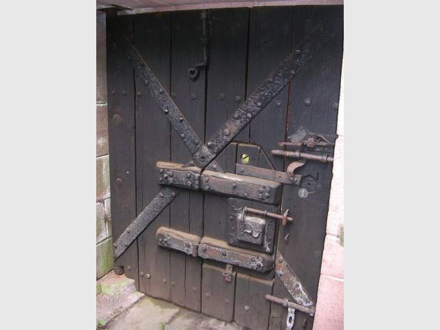 Serrures et portes - Château du Haut Koenigsbourg