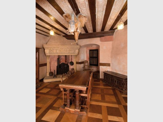 Chambre lorraine - Château du Haut Koenigsbourg