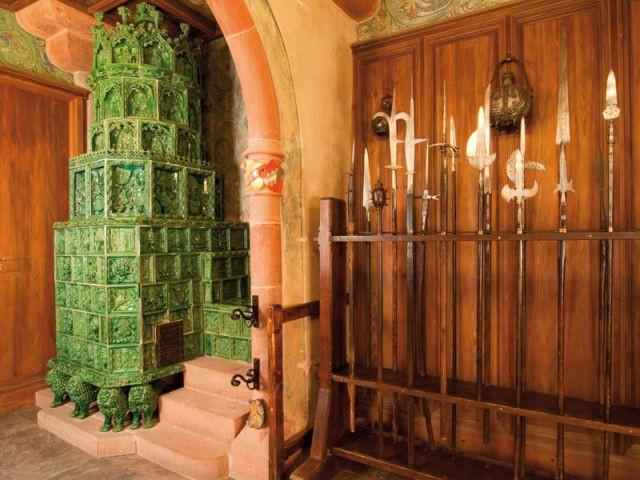 Salle des armes - Château du Haut Koenigsbourg