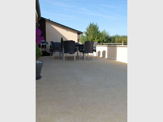 Terrasse après - Aménagement extérieur - SARL Ramella
