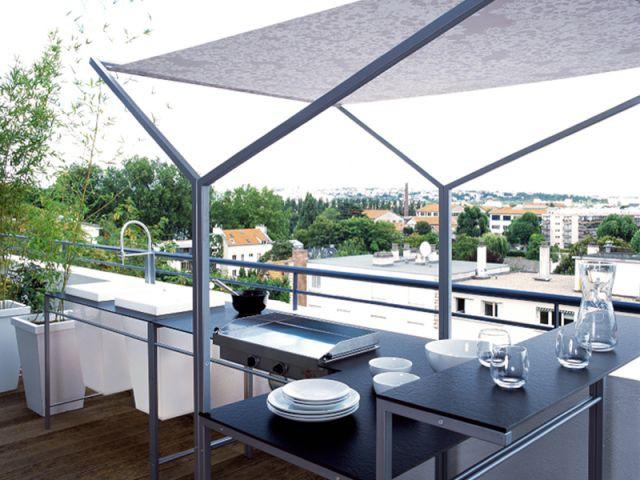 douze am nagements possibles pour votre balcon. Black Bedroom Furniture Sets. Home Design Ideas