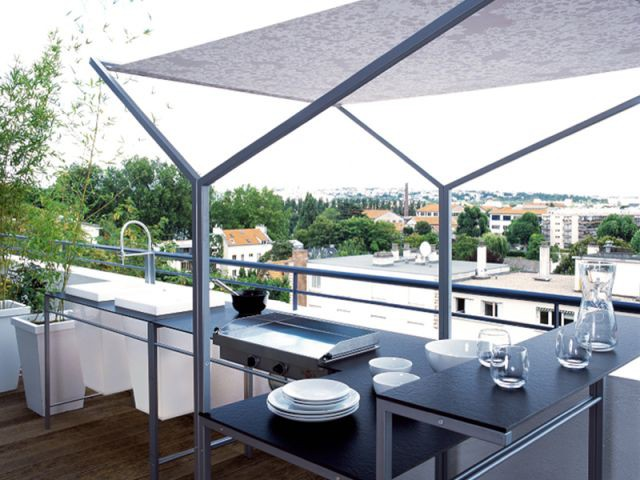 "Ambiance ""Cuisine"" - balcon"