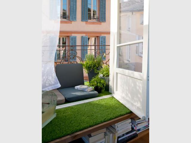 """Ambiance """"Salon"""" - balcon"""