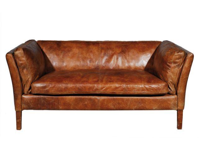 Un canapé en cuir familial - Sélection industriel