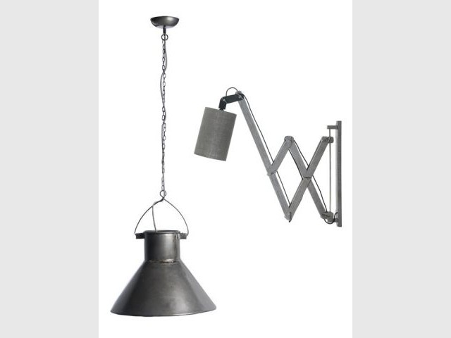Des lampes tout droit sorties de l'usine - Sélection industriel