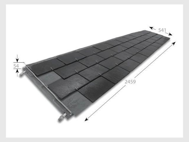 ardoise panneau solaire thermique