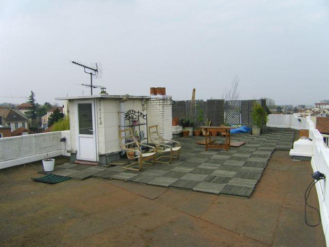 Terrasse avant 1/3 - terrasse
