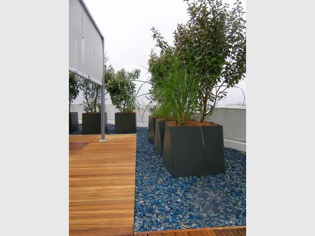 Délimiter les espaces de circulation - terrasse