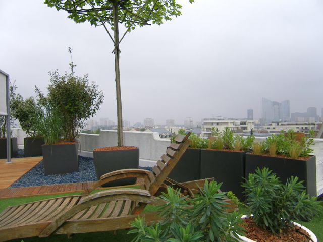 Structurer les espaces avec la végétation - terrasse