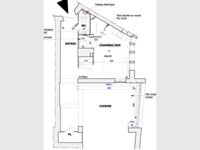 Plan projet - Rénovation appartement à Lyon
