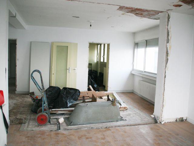 Vue valorisée - Rénovation appartement à Lyon