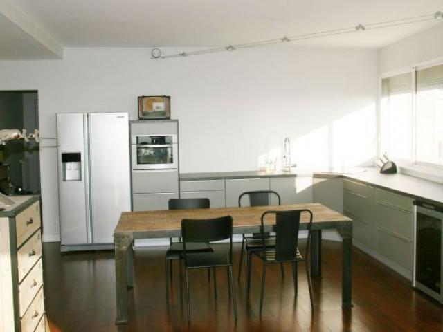 Cuisine après travaux - Rénovation appartement à Lyon