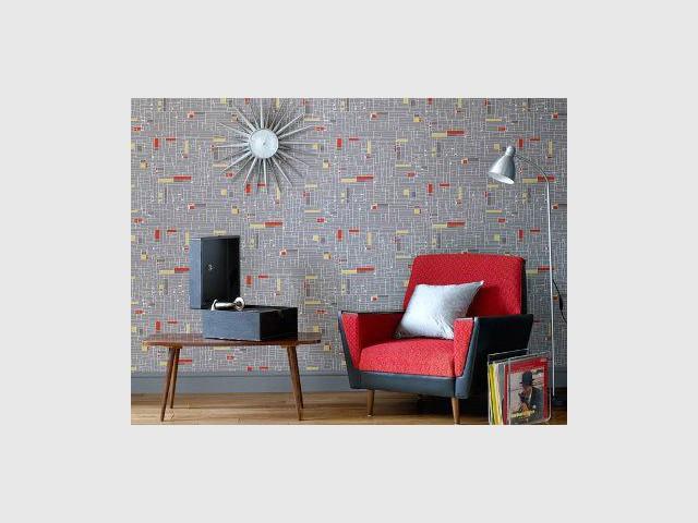 1 design inspir des ann es 50 - Manieres creer decor inspire annees ...