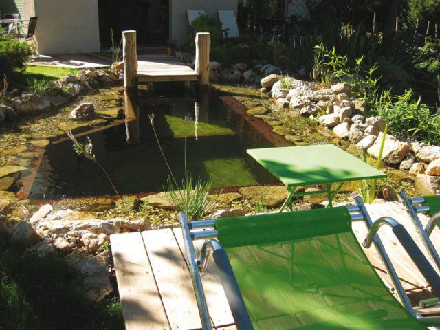 Une eau saine - Bassin rafraîchissement