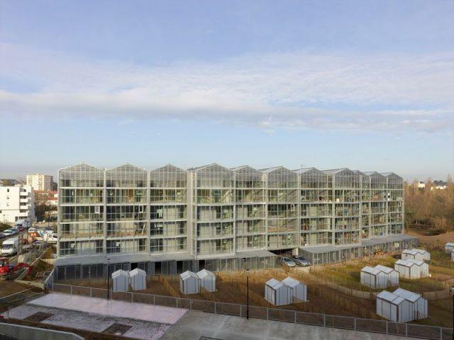 Des logements aux allures de serres