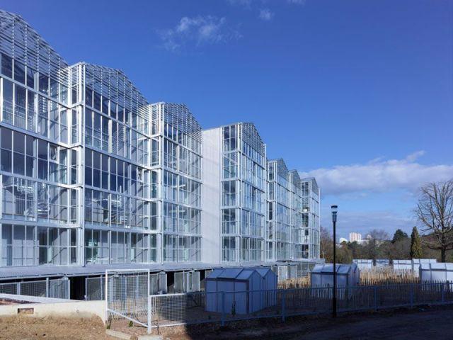 """39 logements répartis en dix """"maisonnées"""" - Des logements aux allures de serres"""