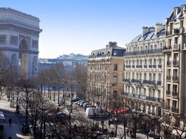 Terrasse - Hôtel Champs Elysées Mac Mahon