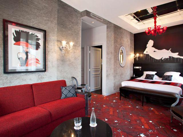 Hommage à la peinture française - Hôtel Champs Elysées Mac Mahon