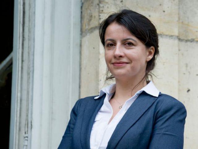 Cécile Duflot ministre du logement le 17 mai 2012
