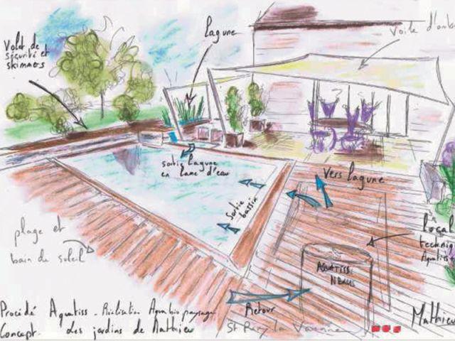 Un aménagement global - reportage terrasse