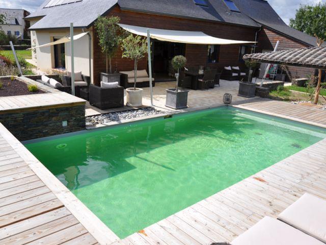Un bassin naturel - reportage terrasse