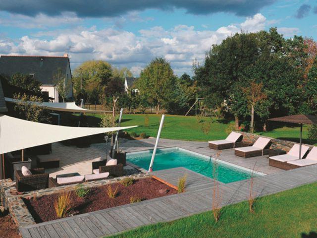 Une terrasse complète - reportage terrasse