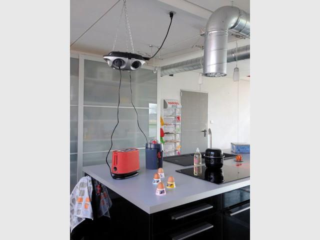 Une cuisine au style industriel - Maison containers