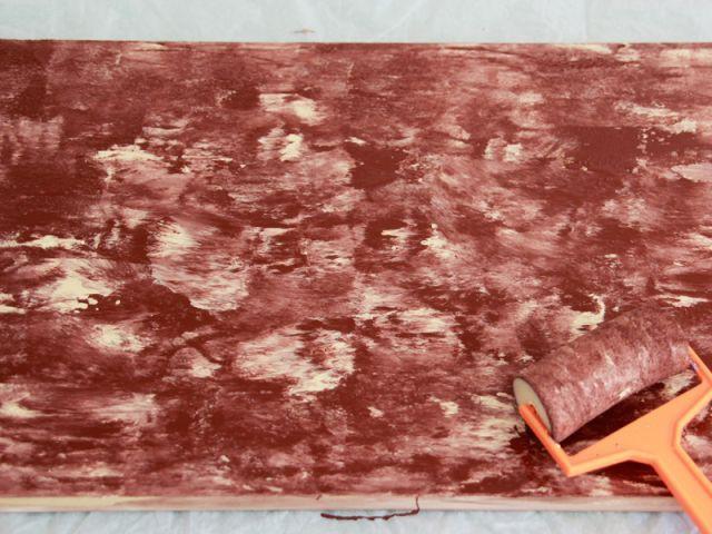 L'effet faux bois 2/3 - Les Ateliers de Mireia