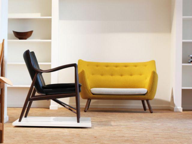 Fauteuil Poet et chaise 45 - Finn Juhl