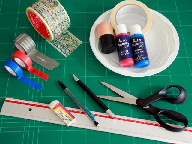 Table British : le matériel - Les Ateliers de Mireia