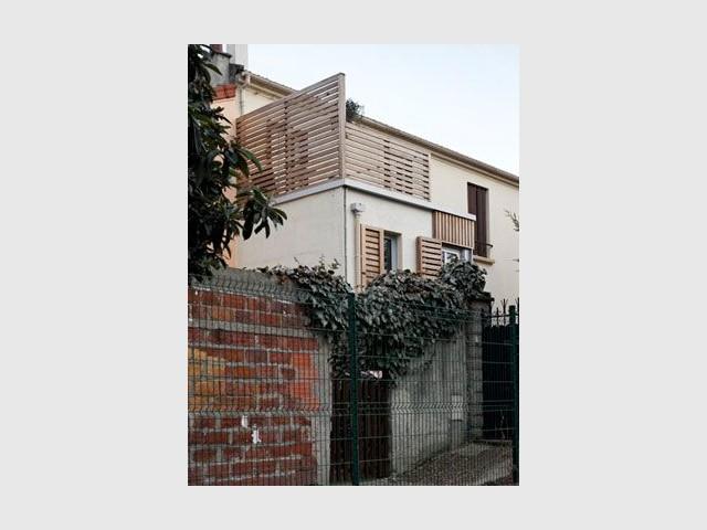 Toit terrasse - Reportage maison transformation bois