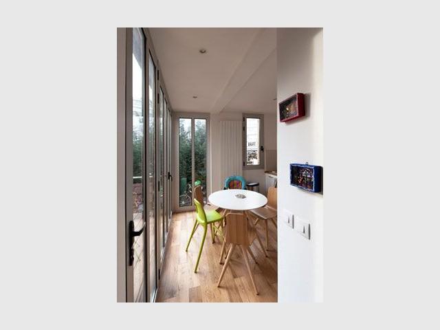 Nouvelle vue - Reportage maison transformation bois