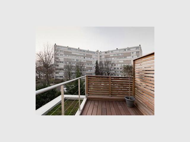 Une rénovation qui fait la part belle au bois... - Reportage maison transformation bois