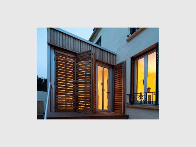 Reportage maison transformation bois