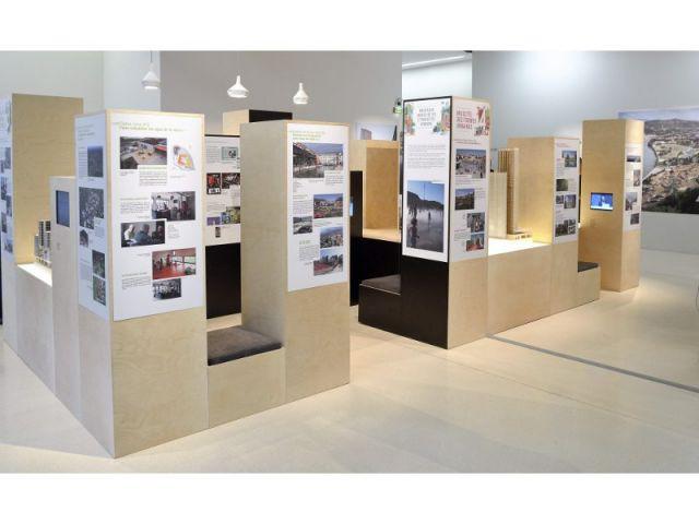 Vue de l'exposition Mix(cité)