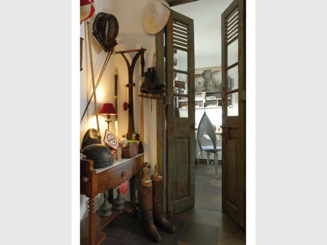 Une meuble dédié aux sports - Maison d'hôtes Val de Brangon