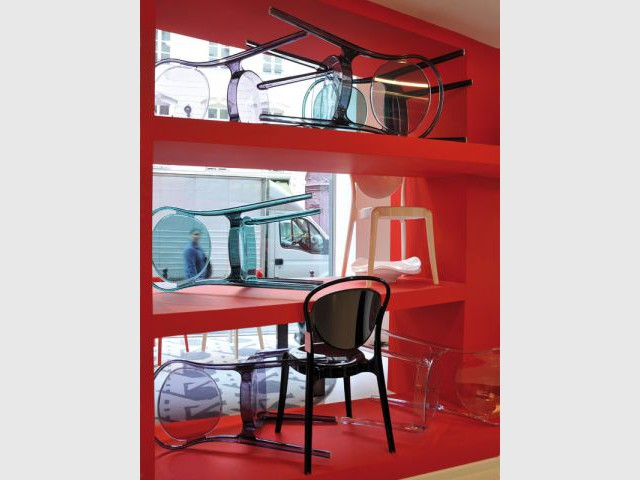 Des chaises de toutes les formes - Boutique Calligaris