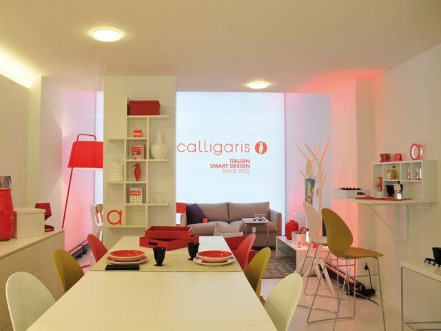 A l'étage, des espaces malins - Boutique Calligaris
