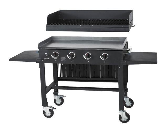Une plancha avec option grill - Sélection planchas