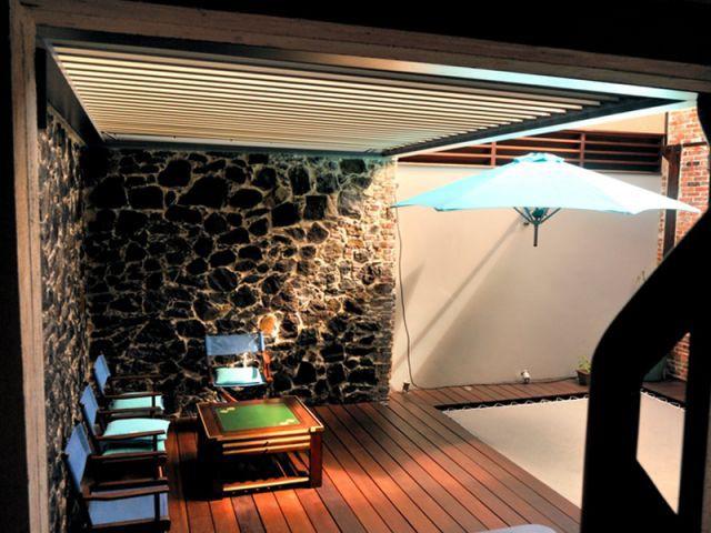"Une terrasse ""cosy"" - fort de france"