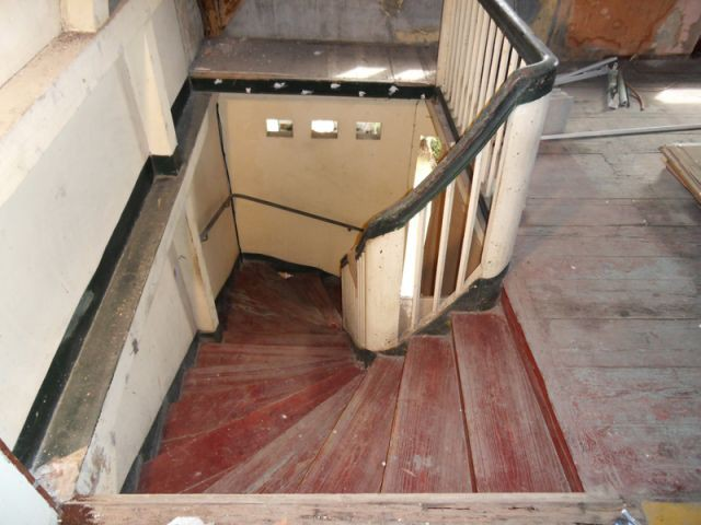 Escalier avant - fort de france