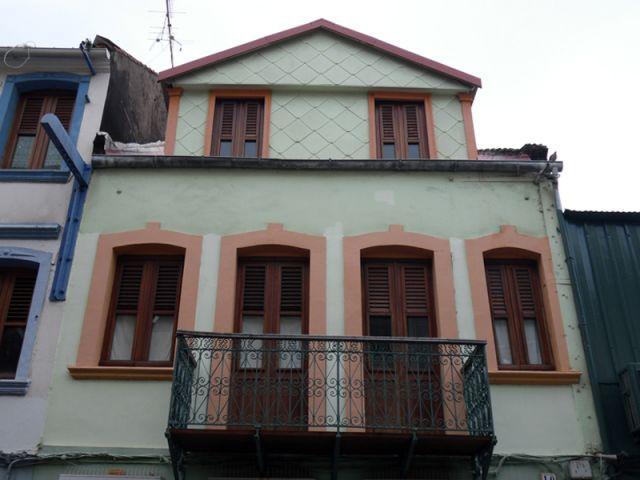 La maison avant restauration - fort de france