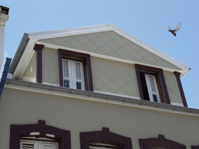 La maison après restauration - fort de france