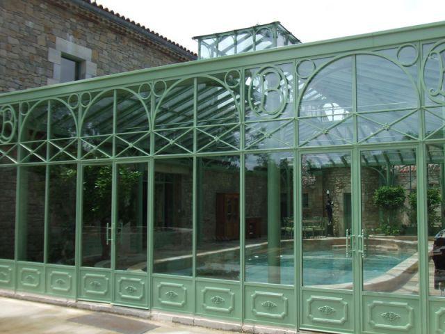 Véranda style XIXème - Vue Extérieure - Lucien Longueville