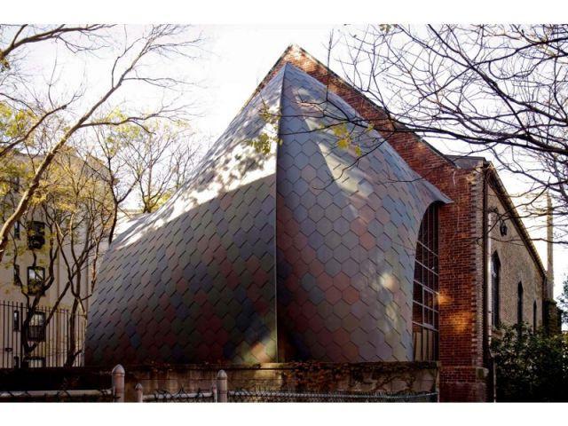 Extension d'un bureau d'architecte, Hoboken (USA)
