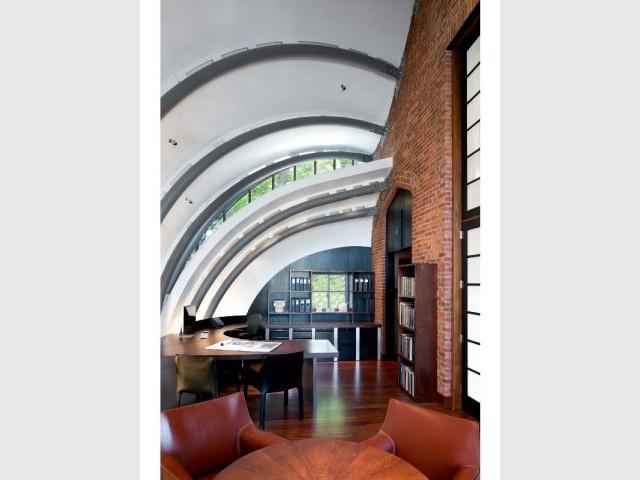 Extension d'un bureau d'architecte, Hoboken