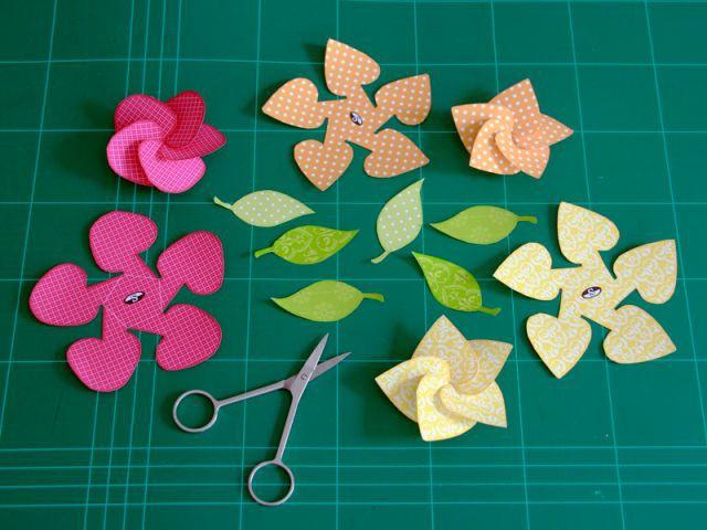 Les fleurs en 3D 2/2 - Les Ateliers de Mireia