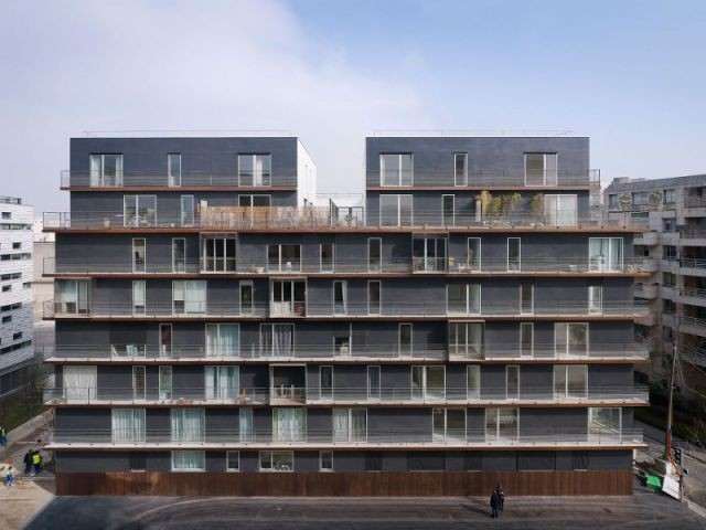 70° Sud, immeuble îlot de Boulogne Billancourt - 70° Sud