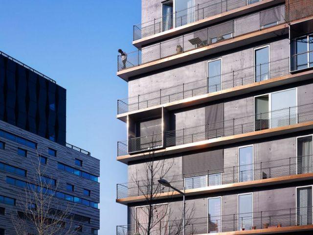 Richesse du revêtement de la façade - 70° Sud
