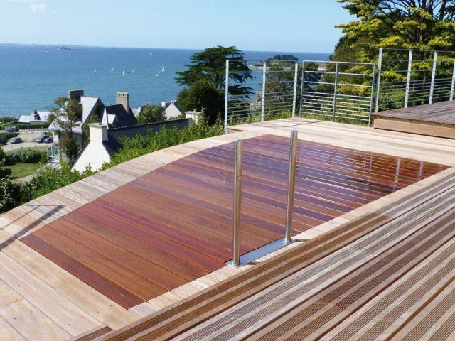 Discrétion de la terrasse - Piscine de rêve